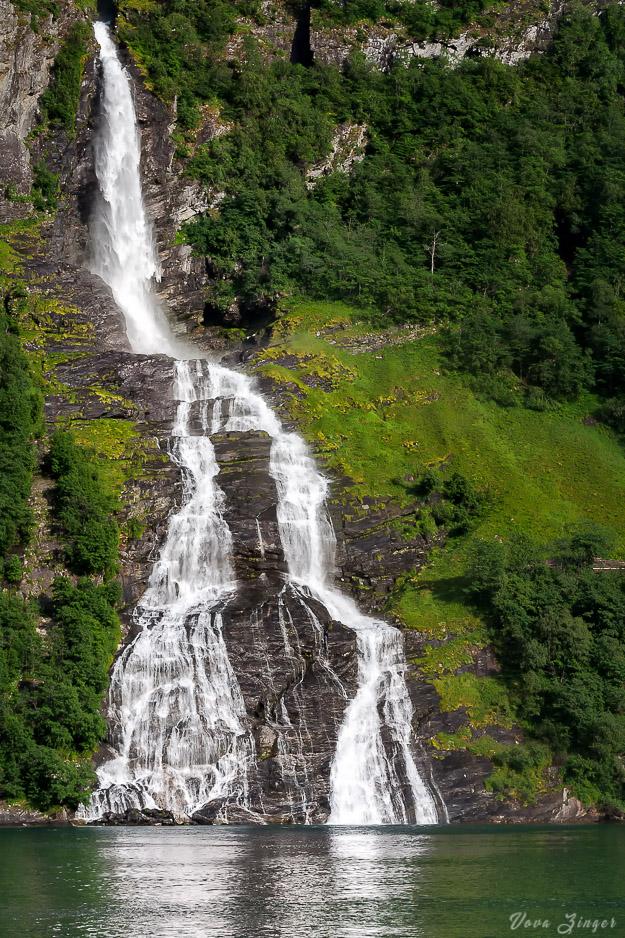 Bridal Veil waterfall, Norway